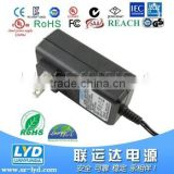 Hot Sale AC DC 9V 3A 27W adapter for beauty equipment with UL FCC CE approval