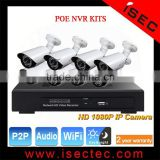 1080P 8CH POE NVR Kit, 960P Onvif 8 Channel POE NVR, Outdoor Bullet Cloud POE NVR 8 Channel