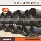 Large diameter hdpe dwc culvert pipe for storm water sewerage