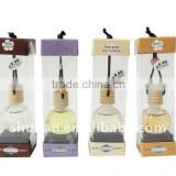 Car Perfume with PVC Packing, Car Perfume in Display Box,Car Air Freshener,Hanging Liquid Air freshener