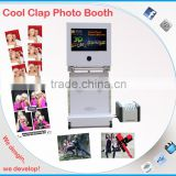 Hot Cool Clap Portable Photo Booth wedding amusement machine