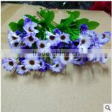PU or cloth material real touch natural looking artificial flowers
