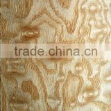 factory price natural China ash ball face wood veneer for wall furniture hotel decoration