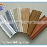 Competitive prices flooring accessories pvc foam skirting board for home interior decorating