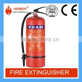High quality afff foam 6L portable fire extinguisher with CE certificate