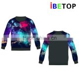 Wholesale Sublimation dri fit gym Hoodies Custom digital print men fancy sport xxxxl Hoody