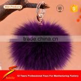 STABILE High Quality Tassel Keychain Pompom Faux Rabbit Fur Pompom Ball                                                                         Quality Choice