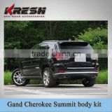 Untility high quality Summit body kit for Grand cherokee with TEO material which include front bumper, rear bumper, grille etc