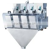 Automatic 4 head linear weigh machine for sugar,salt,beans,candy,nuts,rice,seed,milk powder packing machine