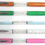 Fashion stock crystal ball pen