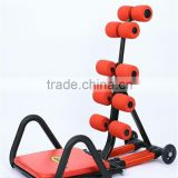 Home use Total Core AB Training Equipment with DVD, Ball/Pump Made of Steel ABS Foam and PU Wheel