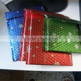 Aluminium foil packaging bag, coloured bubble mailer with self adhesive tape