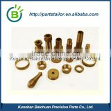 OEM custom Cnc Lathe high precision Brass Parts BCS 0384