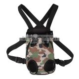 camouflage Dog carrier fashion Travel dog backpack breathable pet bags shoulder pet puppy carrier
