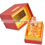 Wholesale Latest Design Custom cardboard perfume box packaging with clear lid