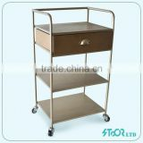Wholesale low price metal cabinet salon beauty trolley