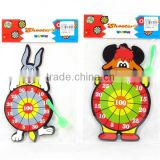 Cartoon animal dart board toys target shooting game toy target dart board