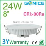 "Environmental home lights Led Lights 8"" 24W AC110-240V internal non-isolated driver"