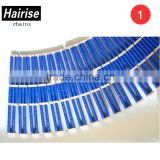 Hairise 882 Hot sell roller chain plastic slat top conveyor chain for fruits and vegetables production line