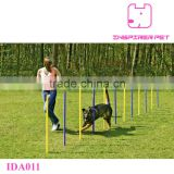 Dog Agility Slalom Pet Training Equipment Weave Poles