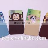Silicone gel vcard sleeve with lovely animal printing
