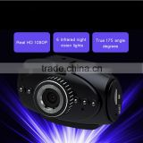 1.5 inchs LCD Dash camera Car DVR with 170 degree lens 1080P