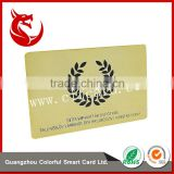 New style gold foil stamping business loyalty vip cards