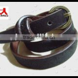 design your own genuine leather horse hair belts
