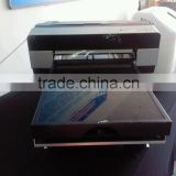 cloth printing machine,transparent glass flatbed printer/digital multi-function t-shirt/metal/pen/glass flatbed printer