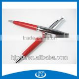 New Style Red Leather Gifts Metal Ballpoint Pen Biro Pen