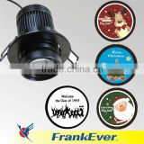 FRANKEVER 5W projection lamp gobo projector outdoor led projector