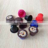 Top quality empty coffee capsule for Nespresso, Kcup, Lavazza blue, caffitaly