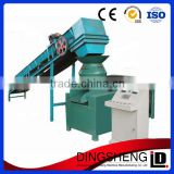 High efficient screw type wheat straw coconut coffee rice husk used wood biomass sawdust briquette machine