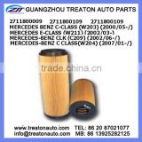 OIL FILTER 2711800009 2711800109 FOR MERCEDES BENZ C-CLASS(W203)00- E-CLASS(W211)02- CLK(C209)02- BENZ C CLASS(W204)07-