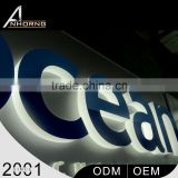 High Quality With 1 Year Warranty Laser Cutting Illuminated 3D Logo For Advertising Display