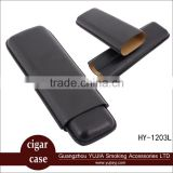 Wholesale cutom Smoking accessories promotion products cohiba custom leather cigar case cigar holder cigar accessories