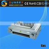 Commercial stainless steel restaurant gas barbecue charcoal grill for party