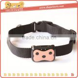 Mini pets tracker ,CC007 waterproof tpu dog collar with gps , dog tracking device collar