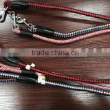 Dongguan braided rope dog leash factory climbing rope dog leash