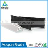 Frame Retarding Skirtboard Safety Brush for Moving Sidewalk