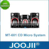 CD Micro Hifi System with Independent Treble and Bass Adjustment, Bluetooth/FM Radio/Karaoke/NFC Function