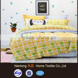 Bright color cotton 200TC air-jet weaving fabric childrens quilt covers                                                                         Quality Choice