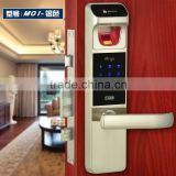 fingerprint scanner door lock, fingerprint reader door lock, biometric fingerprint door lock
