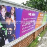 Durable polyester advertising hanging banners/ indoor / outdoor advertising banners