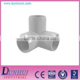 High pressure 3/4, 1, 1-1/4 inch plastic pvc 3 way elbow pipe fittings