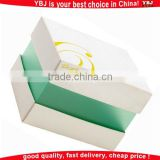 Custom folding colorful clear plastic macaron paper box for sale wholesale
