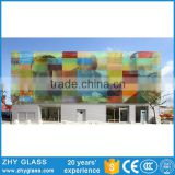 Laminated Tempered Glass Heat Resistant Glass Paint