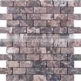 SKY-M038 Speacial Wood Effect Marble Stone Wall Mosaic Tile