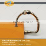 factory direct sale high quality silver screw locked binder ring of keys