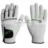 100% cabretta leather golf gloves